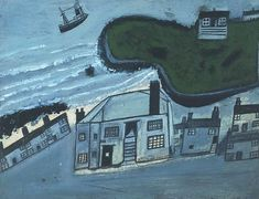 Alfred Wallis, Hold House Port Mear Square Island.