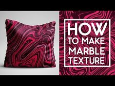 (1) How To Make Liquid Marble Texture in Photoshop and Illustrator - YouTube