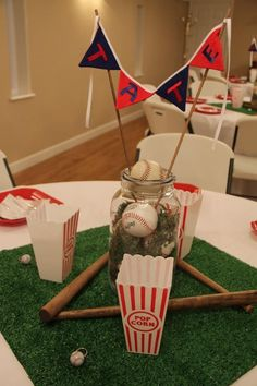 Baseball Themed Baby Shower Ideas | baby shower