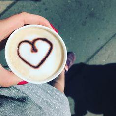 Heart coffee waffle room