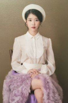 i feel 💙 on IU Korean Beauty, Asian Beauty, Korean Girl, Asian Girl, Luna Fashion, Korean Outfits, Korean Actresses, Celebs, Celebrities