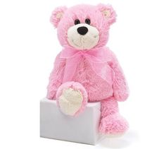 Burton & Burton Pretty Pink Silky Addison Teddy Bear Plush by Burton $13.87. Pat-A-Cake pink bear plush with coordinating pink ribbon bow around neck and soft silky fur. 10 Measured from top of head to bottom of foot.