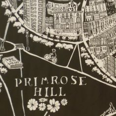 Caroline Harper. Hand-drawn maps | Primrose Hill Details