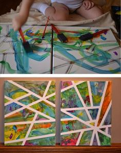 Baby art Many are activities that are best for a toddler. Find several fun toddler activities!