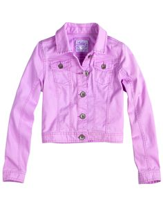 Embellished Denim Jacket | Girls Outerwear Clothes | Shop Justice