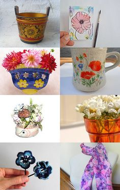 *)May Flowers(* by Saracen Provisions on Etsy--Pinned with TreasuryPin.com