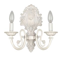 Millennium Lighting Denise Antique White And Bronze Twolight Wall Cool Candle Wall Sconces For Dining Room Design Ideas