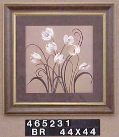 Dancing tulips 44x44