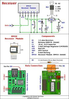 simple motorcycle wiring diagram for choppers and cafe racers wireless control receiver schematic