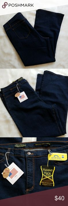 NYDJ tummy tuck jeans Brand new with tags tummy tuck jeans. Butter soft for your comfort. NYDJ Jeans Straight Leg