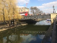 #London #CamdenTown #March #RegentsCanal