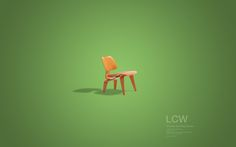 Design Chair Collection (free desktop wallpapers) on the Behance Network