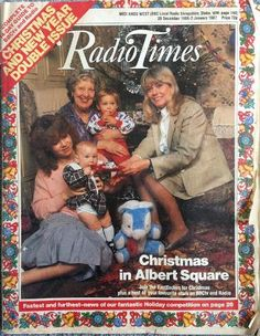For many, the Christmas 'Radio Times' is a tome of wonder during the festive period. Take a look at how times have changed with Christmas covers spanning 90 years. Christmas Cover, Christmas Past, Retro Christmas, Christmas Comics, 1970s Childhood, Childhood Memories, Mario Free, Holiday Competitions, Vintage Magazines