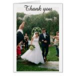 Thank you Wedding card! Card