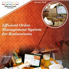 With tablet menu, customers can send orders directly to kitchen. Know more here: www.imenucards.com  #imenu #tabletmenu #digitalmenu #restaurant