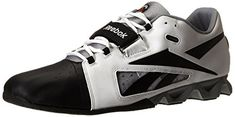 Reebok Mens R Crossfit Lifter Training Shoe WhiteBlackFlat Grey 75 M US >>> More info could be found at the image url.