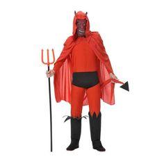 disfraz de demonio halloween