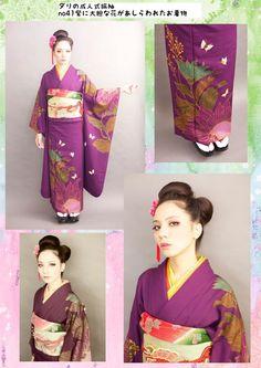 Kimono communication of Dali. Bibi Tsurezure