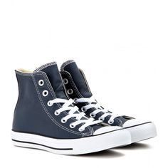 Converse Chuck Taylor All Star Leather High-Tops found on Polyvore