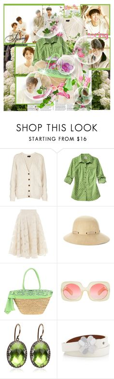 """""""''One spring day''"""" by purplecherryblossom ❤ liked on Polyvore featuring Topshop, Somerset by Alice Temperley, Sole Society, F**K Project, ASOS, Larkspur & Hawk, Tacori and Tory Burch"""