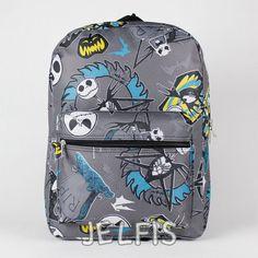 "Jelfis.com - The Nightmare Before Christmas 16"" Large Dark Gray School Backpack for Kid Adult, $20.95 (http://www.jelfis.com/the-nightmare-before-christmas-16-large-dark-gray-school-backpack-for-kid-adult/)"