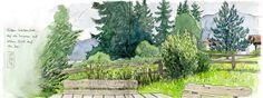 Garten in Weißensee, Oberallgäu