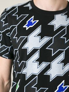 Kris Van Assche Houndstooth T-shirt - Giulio - Farfetch.com
