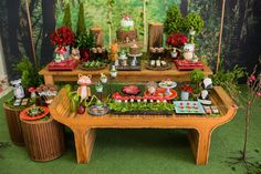Enchanted Forest Birthday Party on Kara's Party Ideas | KarasPartyIdeas.com (12)