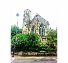 Lovely church in Highgate Hill, London
