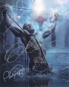 Romance Cover Model John Quinlan Phatpuppy Art 'Chain Break' Autographed 8x10. #JohnQuinlan