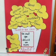 Cute idea for teaching French adjectives French Teaching Resources, Teaching French, Teaching Tools, Teaching Spanish, French Adjectives, High School French, French Education, French Grammar, French Language Learning