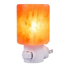 SMAGREHO Mini Hand Carved Natural Crystal Himalayan Salt Lamp night light (cylinder-shaped) The Himalayan salt lamps made and hand carved in Pakistan. Heating the salt with the included 15 watt b… Himalayan Salt Lamp, Crystals In The Home, Light Works, Night Lamps, Lamp Sets, Lamp Design, Night Light, Natural, Nocturne