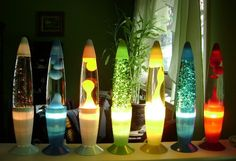 Groovy lava lamps to light up your room.