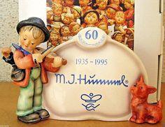 HUM #767 PUPPY LOVE PLAQUE TM7 GOEBEL M.I. HUMMEL FIGURINE SPECIAL EDITION NIB #Figurine