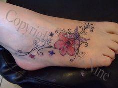 Foot+tattoo   foot tattoos. girls foot tattoos cupcake