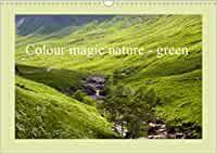 Colour magic nature - green (Wall Calendar 2021 DIN A3 Landscape) Nature Green, Color Magic, A3, Golf Courses, Calendar, Colour, Landscape, Wall Calendars, Stationery Set