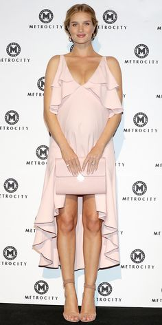 Rosie Huntington-Whiteley's Best Maternity Style Moments - March 30, 2017 from InStyle.com