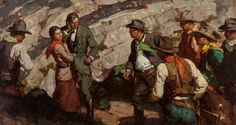 SAUL TEPPER (American, 1899-1987). Western Confrontation (The Tall | Lot #68064 | Heritage Auctions
