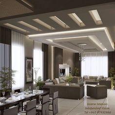 70 Modern False Ceilings With Cove Lighting Design For Living Room