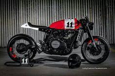Honda Cafe Racer #motorcycles #caferacer #motos   caferacerpasion.com