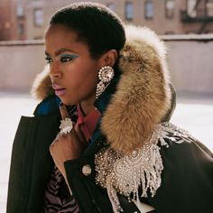 Lauryn Hill goes fashion with woolrich collab Fall Fashion Trends, Autumn Fashion, Ms Lauryn Hill, Miseducation Of Lauryn Hill, Lauren Hill, Black Chicks, Beautiful Outfits, Beautiful Clothes, Fashion 2020