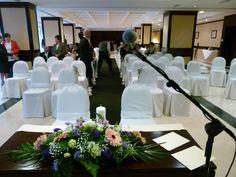 Antes de la ceremonia