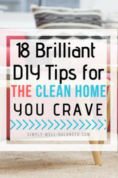 Looking for tips to fight the overwhelm of keeping a clean house? Get inspired by these awesome budget friendly projects will make your home a haven. Simple homemaking tips that can become part of your household maintenance routine. Diy Carpet Cleaner, Carpet Cleaners, Small Space Organization, Organization Hacks, Organizing, House Cleaning Tips, Cleaning Hacks, Steel Stair Railing, Clean House Schedule
