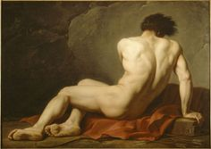 Jacques Louis David - 1748 - 1825, 1778 / 122 x 170 cm / Cherbourg, Musee Thomas - Henry