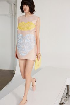 whimsical applique at Stella McCartney Resort 2014