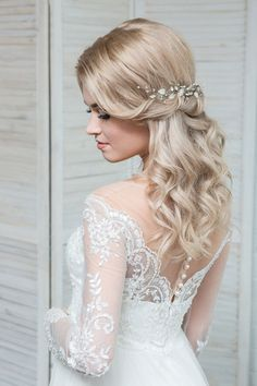 Bridal hair pins Wedding hair pins Leaf hair piece by EoliBridal