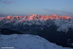 Sunrise on Dolomites