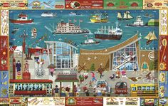 Next Stop: Columbia River Museum is a 1000 piece jigsaw puzzle from SunsOut featuring artwork by Bill W. Dodge. Description from puzzlewarehouse.com. I searched for this on bing.com/images