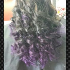 Purple #Ombre  Stylist!/Owner  Little Red's Cut & Dye Salon LLC 609-A South Main Street Sapulpa OK 9189029479  Https://www.styleseat.com/HairByLittleRed