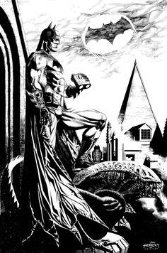 Batman commission by Jackson Herbert